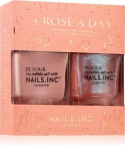 Nails Inc. A Rosé day výhodné balení (na nehty)