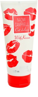 Naomi Campbell Cat Deluxe With Kisses gel de duche para mulheres