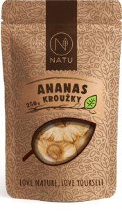 NATU Ananas kroužky sušené ovoce