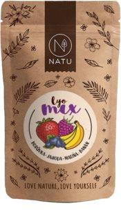 NATU Lyo mix borůvka & jahoda mrazem sušené ovoce