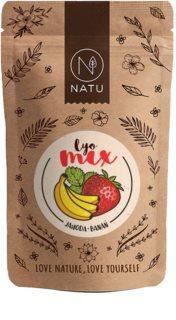NATU Lyo mix jahoda & banán mrazem sušené ovoce