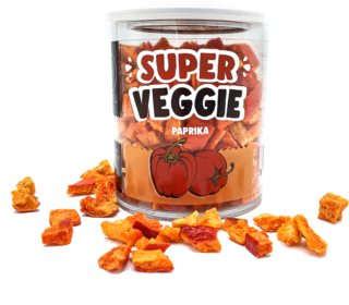 NATU Super VEGGIE červená paprika mrazem sušená zelenina