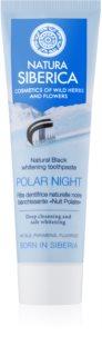 Natura Siberica Polar Night fekete fogfehérítő fogkrém