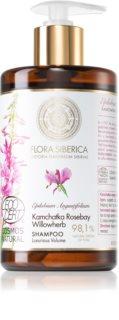 Natura Siberica Flora Siberica Kamchatka Rosebay Willowherb šampón pre objem