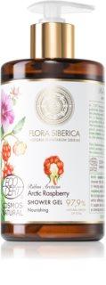 Natura Siberica Flora Siberica Arctic Raspberry hranjivi gel za tuširanje