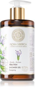 Natura Siberica Flora Siberica Altai Mint gel doccia energizzante