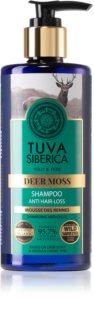 Natura Siberica Tuva Siberica Deer Moss shampoo per stimolare la crescita e rinforzare i capelli dalle radici