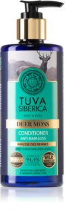 Natura Siberica Tuva Siberica Deer Moss après-shampoing pour fortifier les cheveux