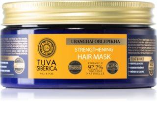 Natura Siberica Tuva Siberica Uranghai Oblepikha hloubkově posilující maska na vlasy