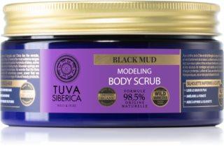 Natura Siberica Tuva Siberica Black Mud Bodyskrub