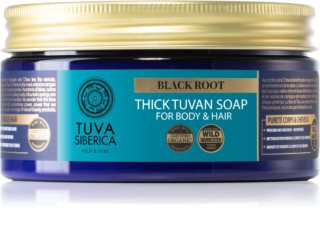 Natura Siberica Tuva Siberica Black Root Liquid Soap for Body and Hair
