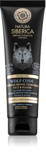 Natura Siberica For Men Only crème protectrice visage et corps