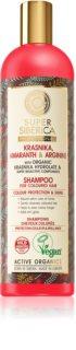 Natura Siberica Krasnika, Amaranth & Arginine reinigendes und nährendes Shampoo für gefärbtes Haar