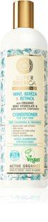 Natura Siberica Mint, Bereza & Retinol Uppfriskande balsam För fett hår