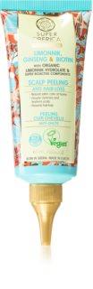 Natura Siberica Limonnik, Ginseng & Biotin пилинг за коса против косопад