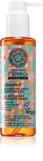 Natura Siberica Oblepikha C-Berrica pieniący się żel oczyszczający do twarzy