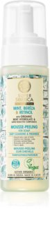 Natura Siberica Mint, Bereza & Retinol gommage moussant pour cuir chevelu