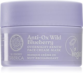 Natura Siberica Anti-Ox Wild Blueberry възстановяващ нощен крем-маска