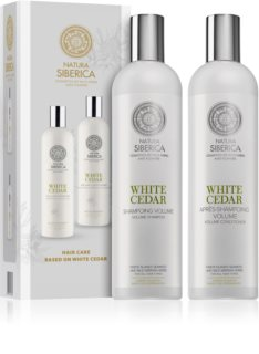 Natura Siberica Copenhagen White Cedar Cosmetic Set (For Flexibility And Volume)