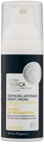 Natura Siberica Sophora Japonica Regenerating Night Cream for Oily and Combination Skin