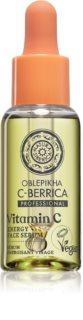 Natura Siberica Oblepikha C-Berrica Elävöittävä Ihoseerumi C-Vitamiinin Kanssa