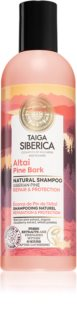 Natura Siberica Taiga Siberica Altai Pine Bark obnovujúci šampón pre poškodené vlasy