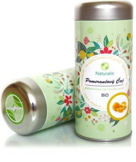 Naturalis Pomerančový čaj BIO bio čaj s kousky ovoce
