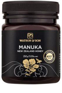 Naturalis Watson & Son Manukový Med 400+ podpora prevence vzniku infekcí a zánětů