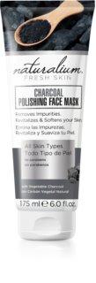 Naturalium Fresh Skin Charcoal mascarilla facial limpiadora e iluminadora