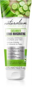 Naturalium Fresh Skin Cucumber erfrischendes Körper-Peeling für alle Oberhauttypen