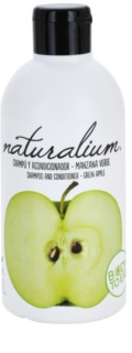 Naturalium Fruit Pleasure Green Apple šampon a kondicionér