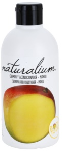 Naturalium Fruit Pleasure Mango champú y acondicionador