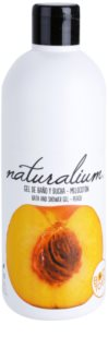 Naturalium Fruit Pleasure Peach gel de ducha nutritivo