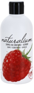Naturalium Fruit Pleasure Raspberry šampon a kondicionér