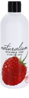 Naturalium Fruit Pleasure Raspberry gel de douche nourrissant