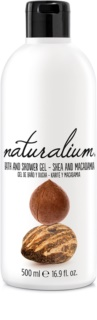 Naturalium Nuts Shea and Macadamia gel de ducha regenerador