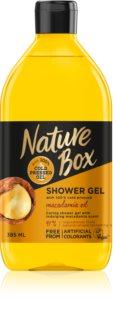 Nature Box Macadamia delikatny żel pod prysznic