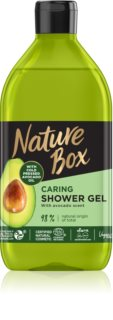 Nature Box Avocado gel doccia trattante