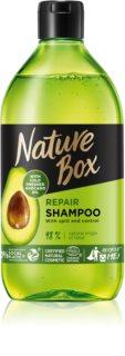 Nature Box Avocado hĺbkovo regeneračný šampón na rozstrapkané končeky vlasov