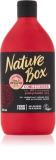 Nature Box Pomegranate acondicionador de nutrición profunda para proteger el color