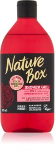 Nature Box Pomegranate gel de ducha estimulante