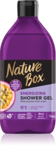 Nature Box Passion Fruit poživitveni gel za prhanje