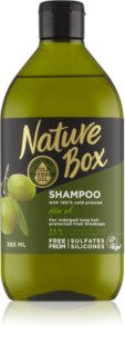 Nature Box Olive Oil shampoing protecteur anti-cheveux cassants