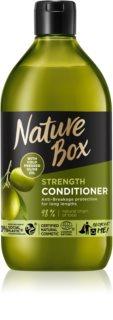 Nature Box Olive Oil balsamo protettivo contro la rottura dei capelli