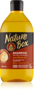 Nature Box Macadamia Oil Shampoo mit ernährender Wirkung