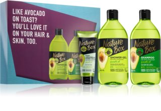 Nature Box Avocado ajándékszett (testre és hajra)