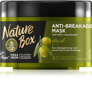 Nature Box Olive Oil Mask To Treat Hair Brittleness