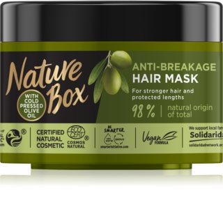 Nature Box Olive Oil маска  срещу късане на  косата