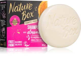 Nature Box Shampoo Bar Almond Oil tuhý šampon