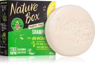 Nature Box Shampoo Bar Avocado Oil Barre de shampoing